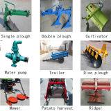 歩くトラクター、小型トラクター、多機能のトラクター、2つの車輪のトラクター