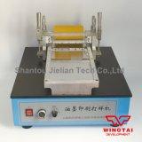 Pruebas de impresión con tinta de la máquina para la Flexografía