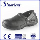 Véritable sandale Chaussures de sécurité en cuir avec embout en acier
