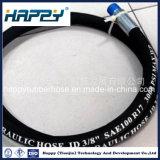 R17 flexible haute pression/le flexible hydraulique/flexible en caoutchouc/flexible d'huile