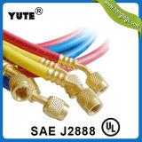 Saej 2196 flexible en caoutchouc R134A le flexible de charge de fluide réfrigérant