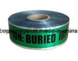 Band van de Waarschuwing van de aluminiumfolie de Ondergrondse Opspoorbare voor Barricade van de Band van de Barrière van de Band van de Voorzichtigheid Band