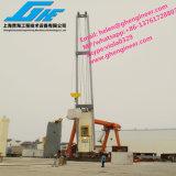 30 톤 Hydraulic Wire Luffing Stiff Boom Quayside와 Port Marine Crane