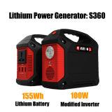 De draagbare Levering van de Macht van de Batterij van het Lithium van de Omschakelaar van de Macht van de Generator Reserve155wh