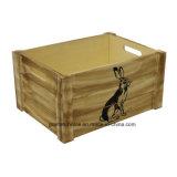 [تنون جوينت] 3 مجموعة غلّة كرم حيوانيّة [ثمد] طبيعيّة خشبيّة تخزين صندوق شحن