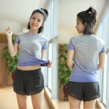 Secado rápido de alta calidad camisa Sport Made in China