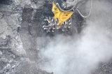 Double sortie d'arbre du moteur hydraulique de la faucheuse à tambour rotatif