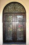 예술과 기술 손은 두 배 장식적인 철 문을 만들었다