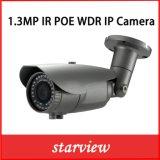 camera van de Veiligheid van kabeltelevisie van de 1.3MPWDR IP IRL de Waterdichte Kogel