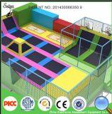 Grande parque do Trampoline do campo de jogos interno para a venda