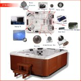 Acrylic autonome Outdoor SPA Hot Tub Massage Whirlpool Bathtubs Made en Chine