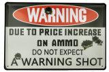 Знаки металла украшения логоса популярного сбор винограда предупреждающий