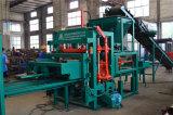 Гидровлическая машина делать кирпича цемента Concrte полая Blcok давления Qt4-20 Semi автоматическая