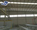 직류 전기를 통한 물결 모양 가벼운 강철 구조물 창고