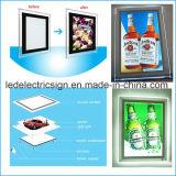 Пиво рекламируя коробку индикации СИД выставки светлую