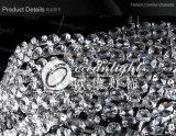 A borda de Aço Inoxidável lustres de cristal Lamp Om8863