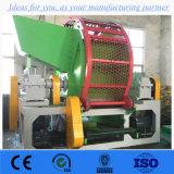 De Machines van het Recycling van de band, de Dubbele Ontvezelmachine van de Schacht, de Ontvezelmachine van de Banden van de Vrachtwagen