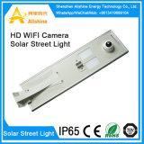 5W-120W extérieur a intégré tous dans une lumière solaire de jardin de rue de DEL avec l'appareil-photo de télévision en circuit fermé