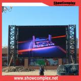 P8 mur polychrome de vidéo de la publicité extérieure DEL