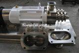 Pompe de vis de jumeau d'acier inoxydable pour le transfert d'encombrement