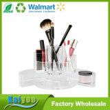 Plusieurs compartiments durables du vérin extensible vanité organisateur en acrylique