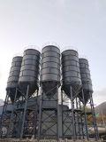 구체적인 1회분으로 처리 플랜트를 위한 100개 톤 강철 저장 사일로