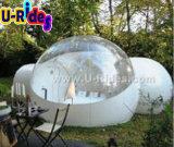 Tenda gonfiabile della bolla con 2 trafori