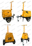 5kVA Portable Light Tower Generator