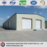 Taller prefabricado de la construcción del marco de acero con la certificación del Ce