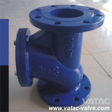 Molde Iron Flange RF Ball Check Valve con Full Rubber (NBR, EPDM, NR) Lined