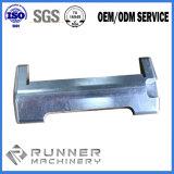 Precisie CNC die Buis machinaal bewerken die de Flens van Roestvrij staal machinaal bewerken 304