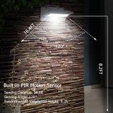 La lumière solaire LED à montage mural Chemin de la Cour de clôture de la Lampe de Jardin Piscine