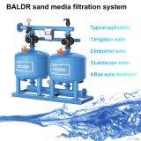 De Filter van /Sand van het Systeem van de Filtratie van de Media van het zand met PLC Controlemechanisme voor het Systeem van de Druppel van de Irrigatie