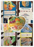 La haute définition Carton entièrement automatique Machine d'impression flexo Multicolors avec empilage Machine
