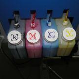 Impressora solvente Multicolor de Eco com a cabeça de impressão de Dx 5
