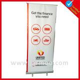 Реклама модных торговых шоу отображается баннер для установки вне помещений