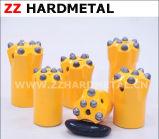 Bits de tecla afilados do carboneto para a mineração