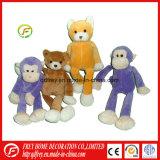 Het Stuk speelgoed van de pluche van het Stuk speelgoed van Macaque van de Brij en van de Baby