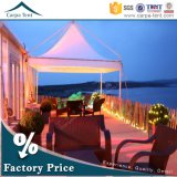 3X3 5X5 Small Waterproof PVC Pagoda Tent ABS Wall Glass Wall