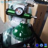 Pack de ombro com tamanho D e do regulador do cilindro de oxigênio Médica