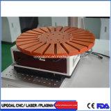 станок для лазерной маркировки массового количества пера волокна с поворотом вращающегося диска