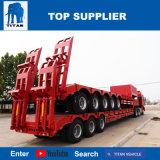Titan 2 largement utilisé de l'essieu Lowbed Cargo remorques avec la vente de l'Égypte