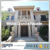 De Chinese Opgepoetste Tegel van de Voorzijde van het Graniet voor BuitenMuur/Vloer in Witte Kleur