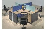 Apariencia moderna estación de trabajo para 4 personas ronda armario escritorios de oficina (SZ-WS929)