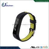 De beste Hete het Verkopen Intelligente Functie van Mult van de Riem van de Kleuren van de Armband van de Armband Bluetooth Slimme Dubbele