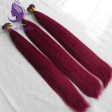 Estensione brasiliana poco costosa dei capelli di punta di Prebonded U dei capelli umani