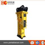 Ylb1000 tipo silencioso disjuntor hidráulico do martelo da demolição da máquina escavadora