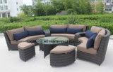 El sofá modular de la rota de los muebles del patio fijó con el cuadro 0088