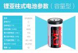 Thionyl van het Lithium van de Batterijen van het Type van Spoel Er26500 Lisocl2 van het Lithium van de vooravond de Primaire Batterij van het Chloride