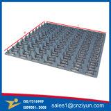 La armadura de techo de acero galvanizado de la placa de la uña